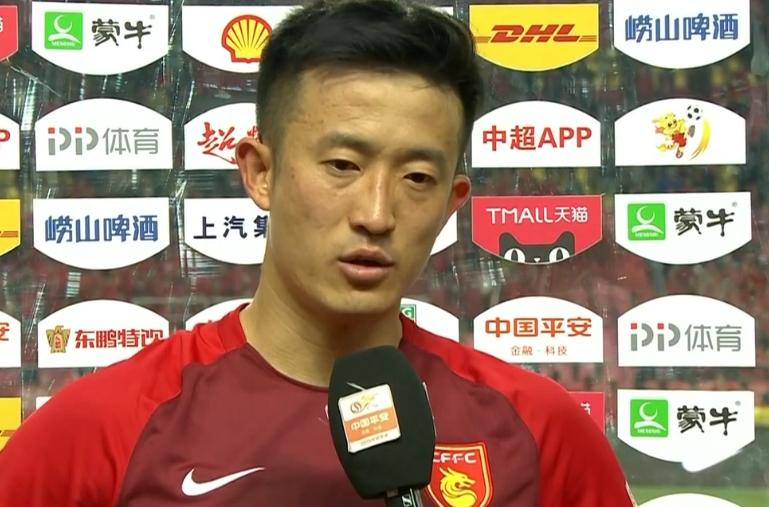 姜至鹏:大家到最后一刻都没有放弃 后面也要像今天一样去踢