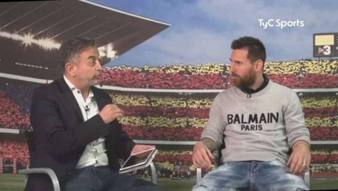 梅西专访:09欧冠决赛战曼联进球是生涯最佳 我非典型射手