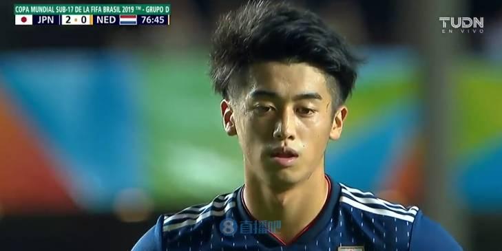 U17世界杯:日本3-0荷兰迎开门红,西川润2传1射
