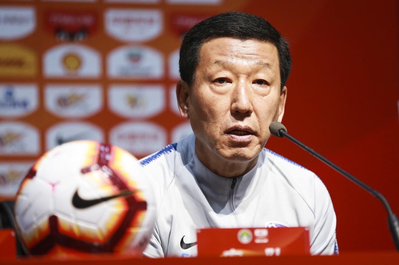 崔康熙:金信煜已开始康复训练 主场收官战与足协杯决赛同样重要