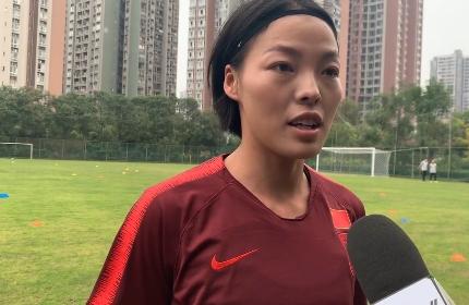 李梦雯:再次入选国家队心态变沉稳 希望能代表中国参加奥运