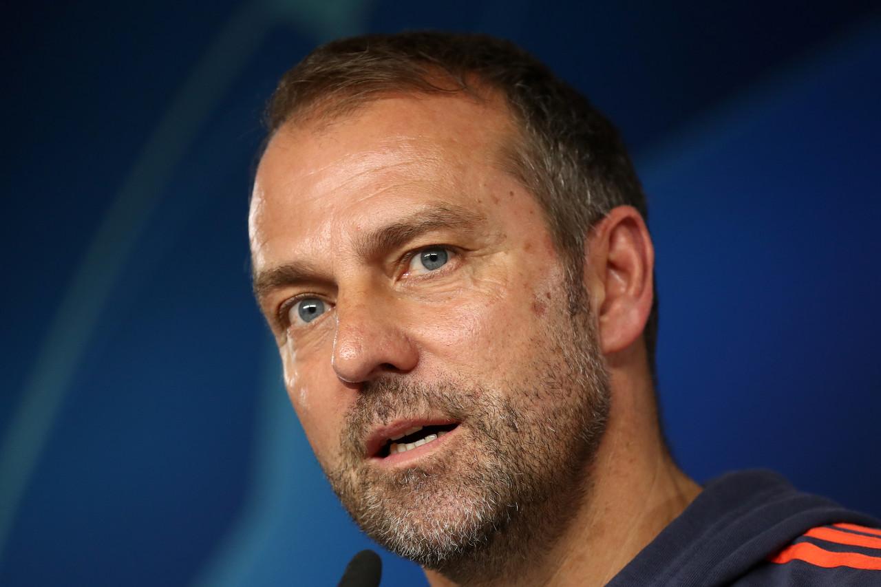 弗里克:球员们完全按照我的计划在踢,拜仁防守做得不错