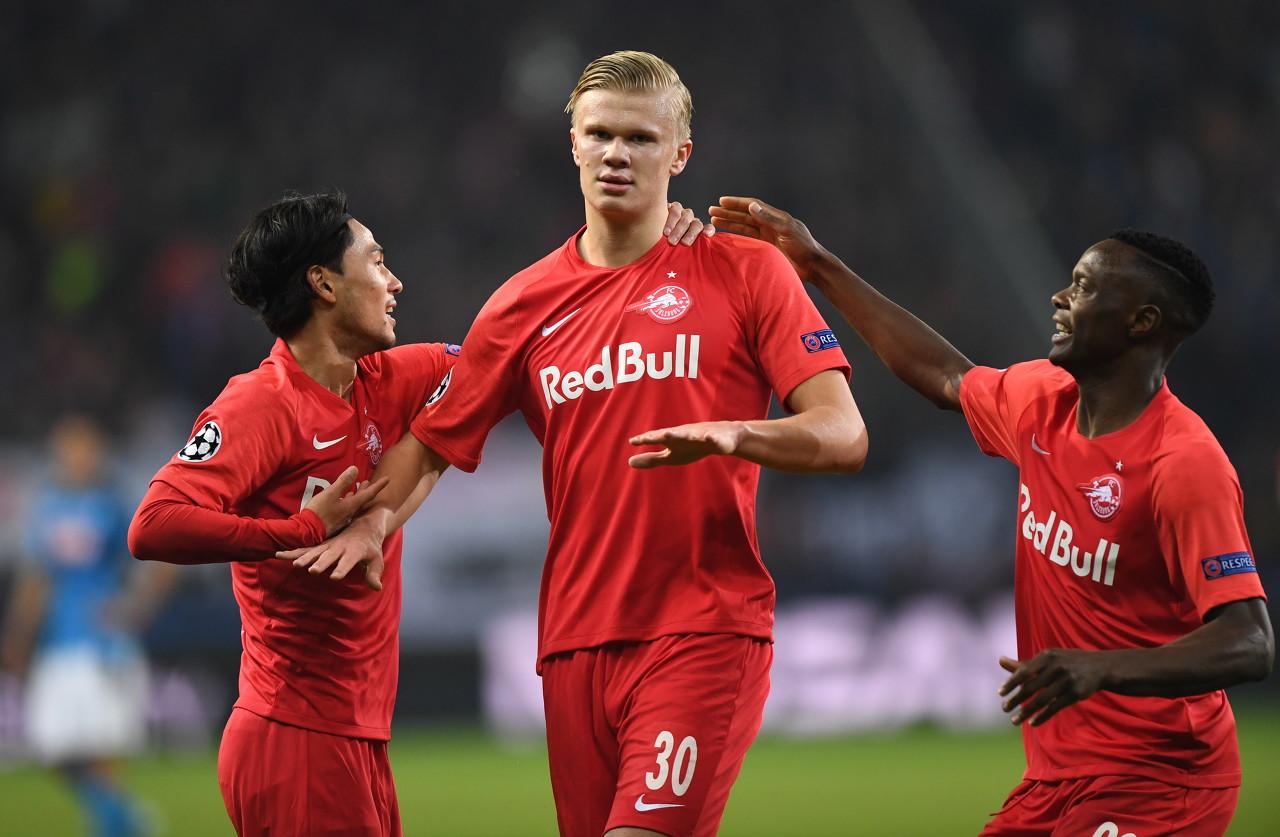 挪威媒体:阿森纳、曼联等球队派球探考察了哈兰德