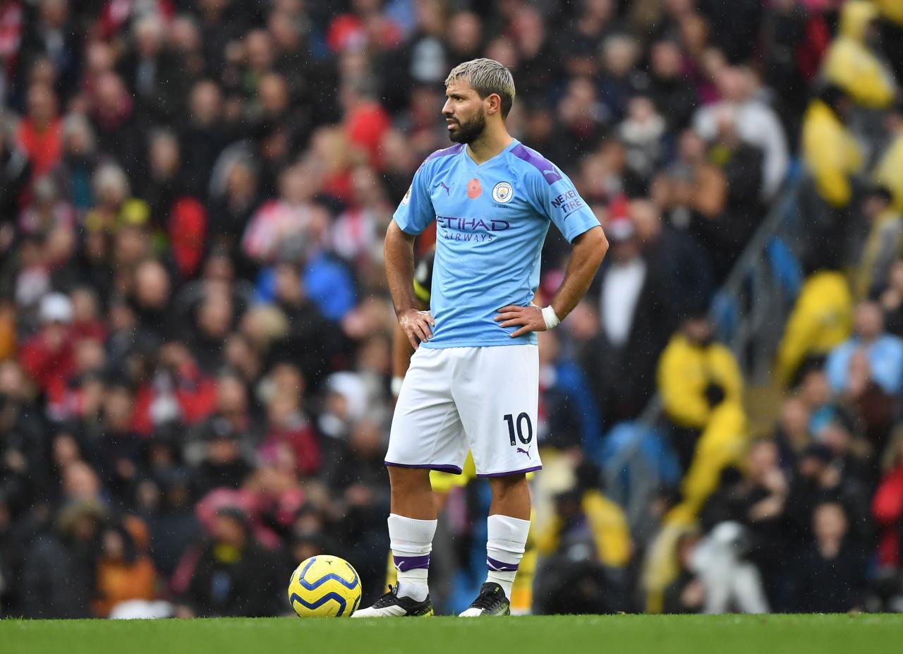 阿圭罗:优秀队友让我很容易进球 追赶利物浦太难