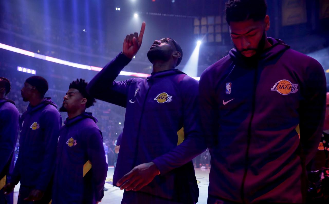 NBA战力榜:湖人登上榜首_绿军跌至次席_勇士倒数第一