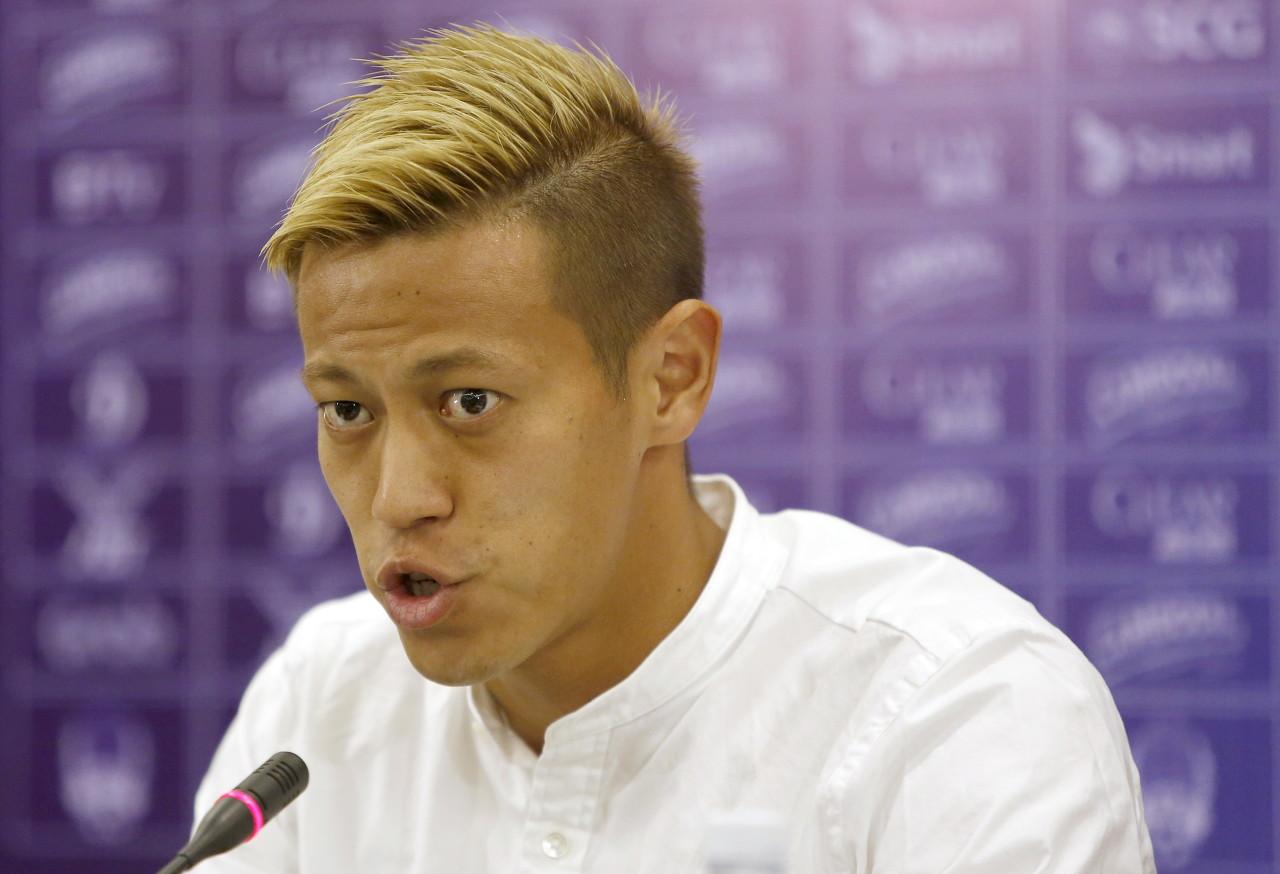 巴媒:博塔弗戈寻找10号球员,想签下33岁本田圭佑