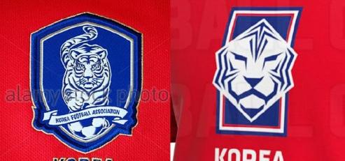 韩国国家队新款队徽谍照:现代派设计风格