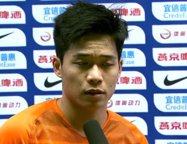 段刘愚:足协杯决赛经历让我成长 今年变得更有自信