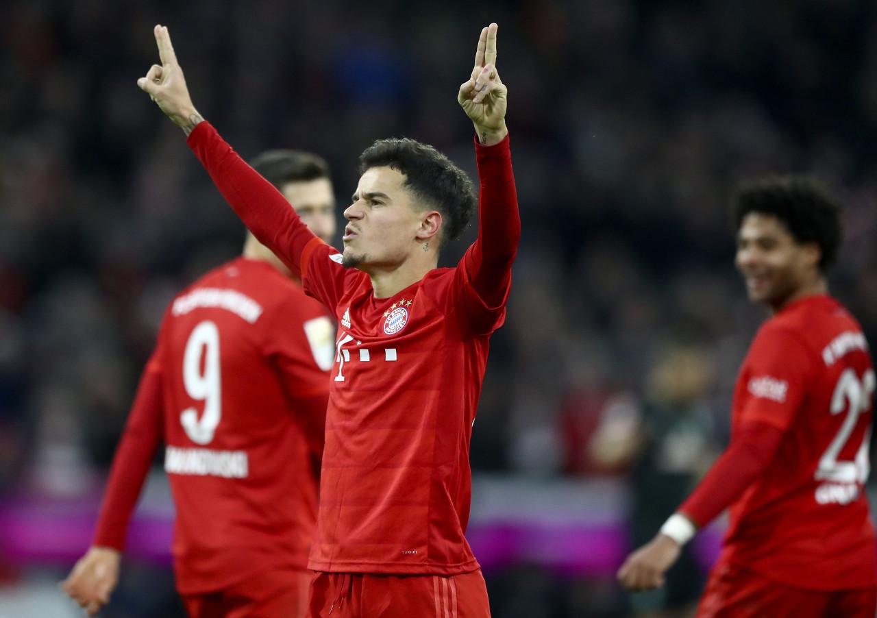 世体:拜仁想要续租库蒂尼奥至本赛季欧冠比赛结束