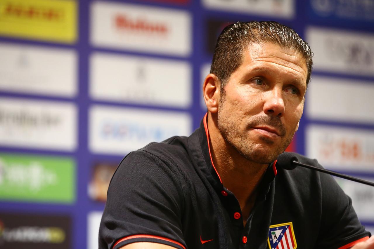 西蒙尼:巴尔韦德是出色的教练 莫拉塔要更冷静地应对越位情况