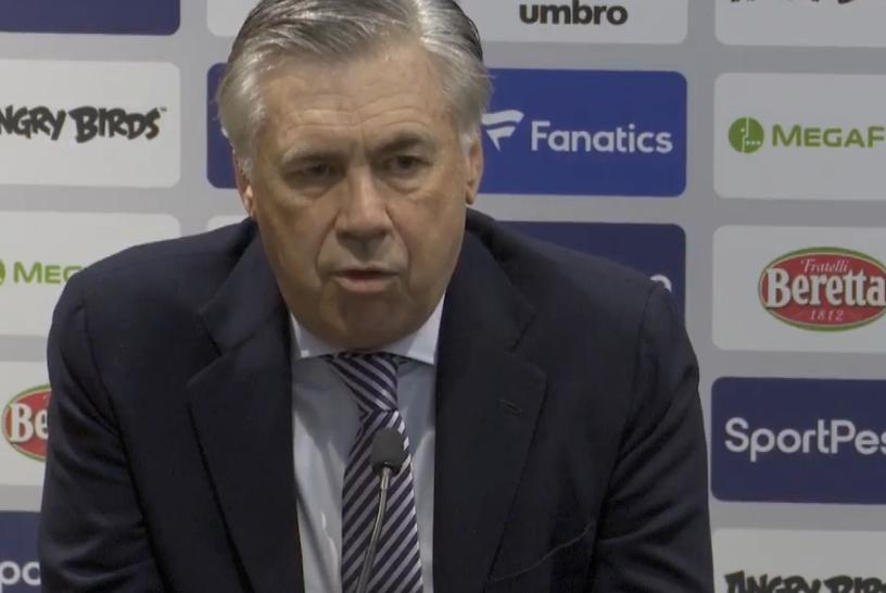 安切洛蒂:球队的表现不够好 下半场大家失去了自信和强度