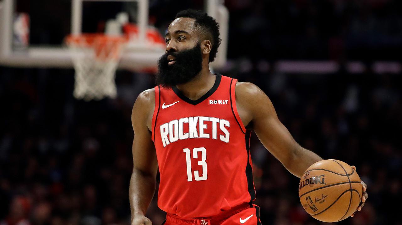 哈登半场出现11次失误 创NBA历史新纪录