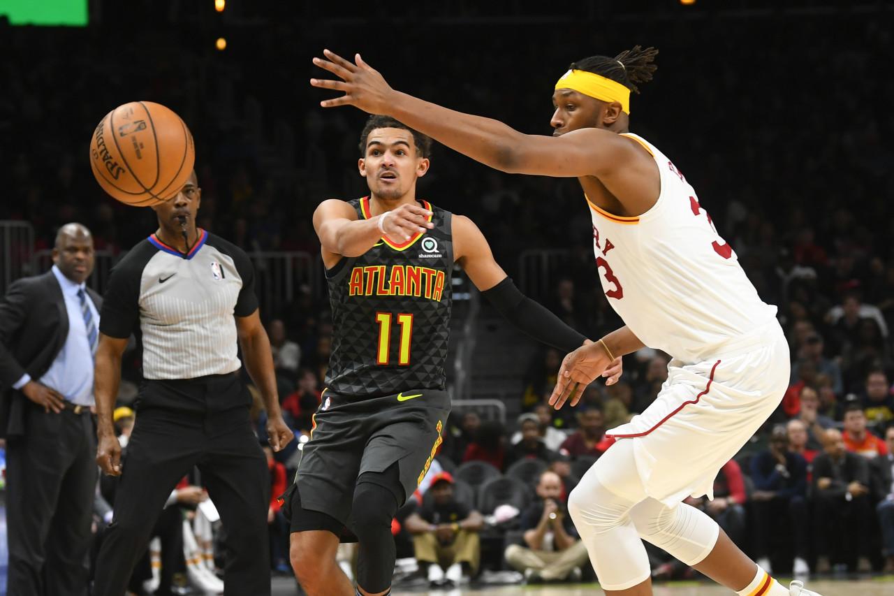 NBA官方评选今日最佳数据:特雷-杨41+8+2抢断当选