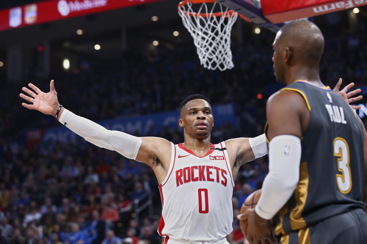 NBA前瞻:火箭VS雷霆 再见已是陌生人图片
