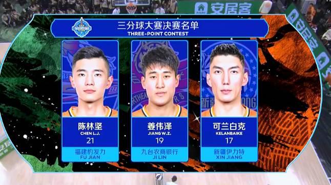 CBA三分赛:陈林坚轰下21分 携手姜伟泽&可兰进决赛