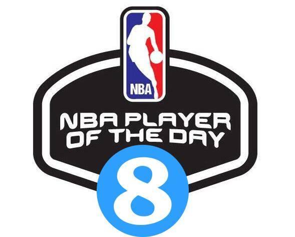 【直播吧评选】1月13日NBA最佳球员