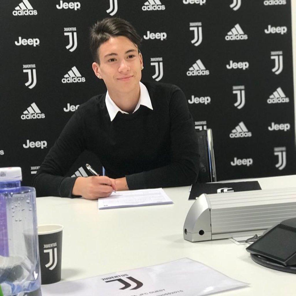 尤文图斯签下阿根廷16岁边锋,后者曾入选U16国少队