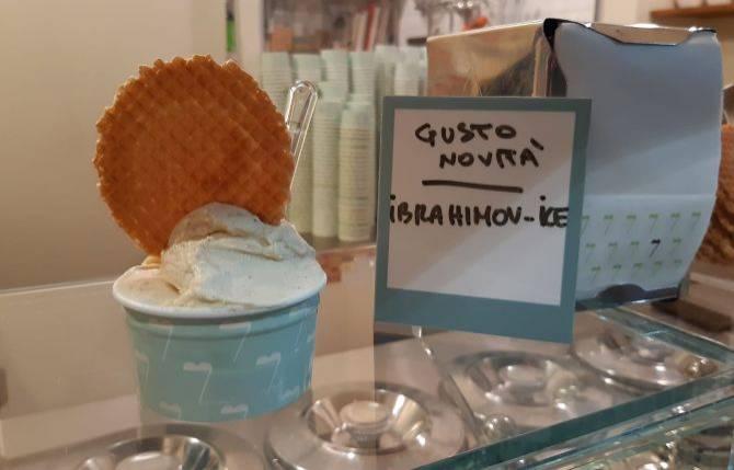 兹拉坦效应?米兰冰淇淋店推出伊布口味冰淇淋