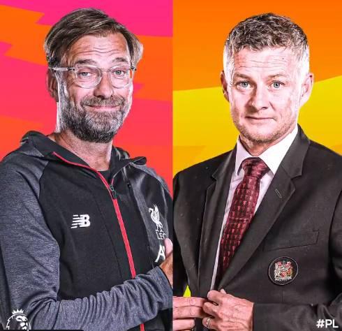 利物浦vs曼联首发:红军三叉戟先发,拉什福德缺阵