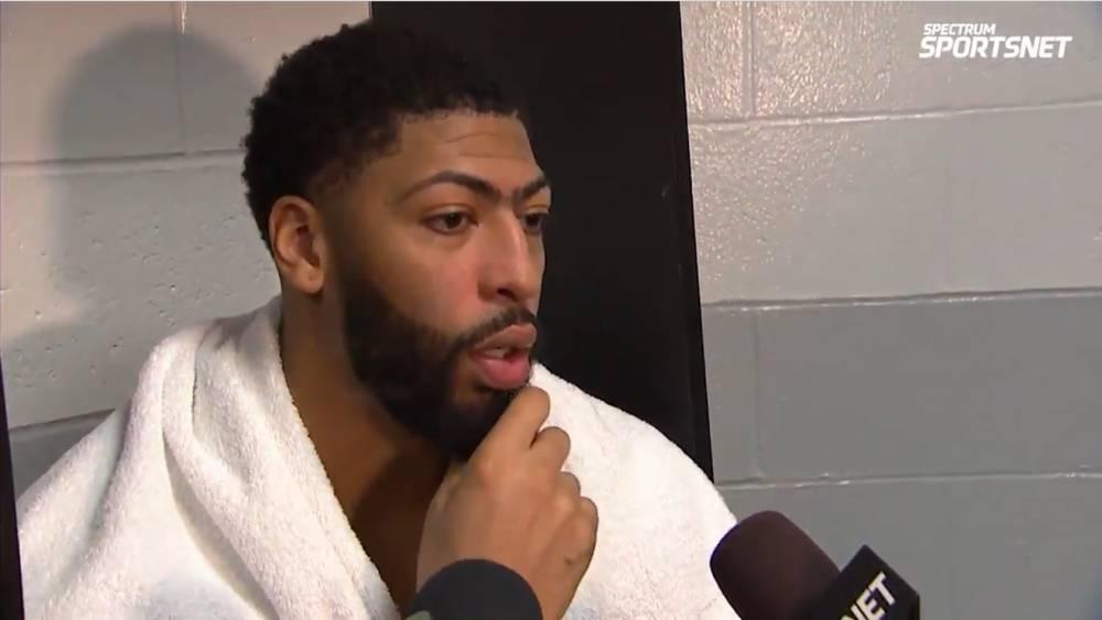 戴维斯:身体恢复得不错 没保护好篮板是今晚输球的重要原因
