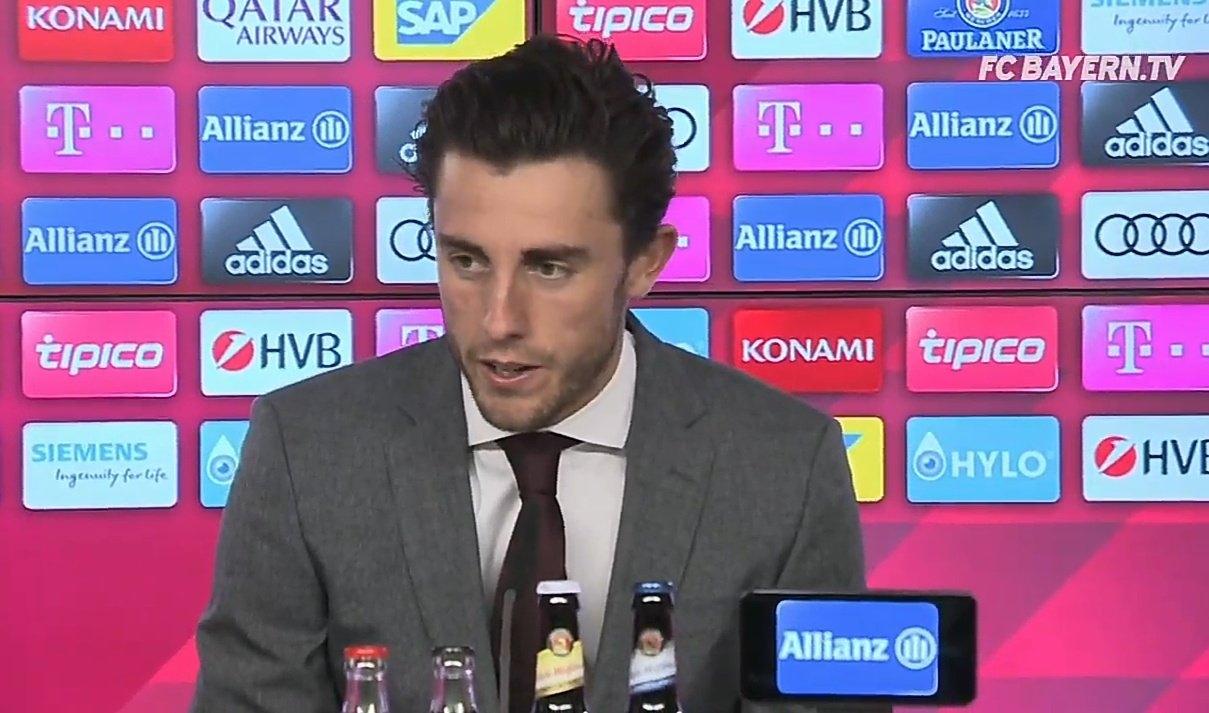 奥德里奥索拉:J罗克罗斯向我推荐拜仁 很喜欢拜仁的一切