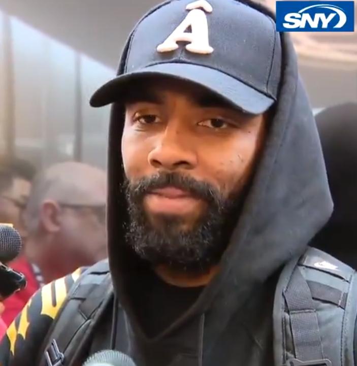 欧文:很期待纽约德比 时常想起儿时篮网大战尼克斯