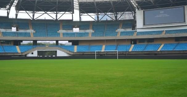 【蜗牛电竞】记者:苏州奥体外场比赛均安排在4点半进行,主要是灯光原因