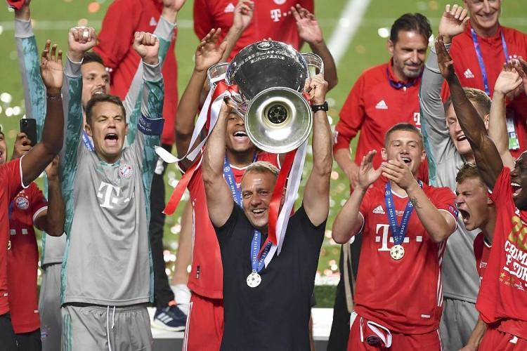 官方:莱万获得AIPS年度最佳男运动员,拜仁获最佳团队奖图片