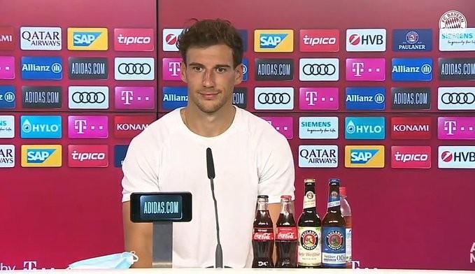 格雷茨卡:与萨内同在拜仁是段佳话 希望成为球队领袖