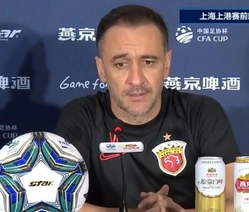 佩雷拉:相比足协杯而言 打好联赛责任更大