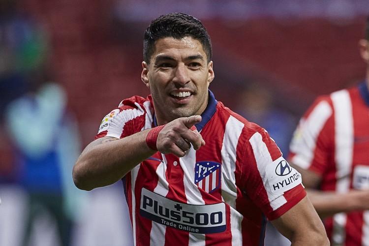 加盟马竞前15场联赛打入12球,苏亚雷斯是队史第8人图片