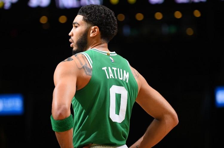 塔图姆开季前三场出手60+&罚球≤5个 自ABA&NBA合并后第3人图片