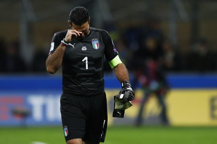 若日尼奥:永远不会忘记18年意大利无缘世界杯时布冯的哭泣