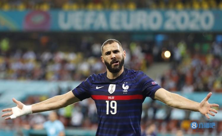 本泽马打进个人法国队第32球,超越齐达内独占历史第六