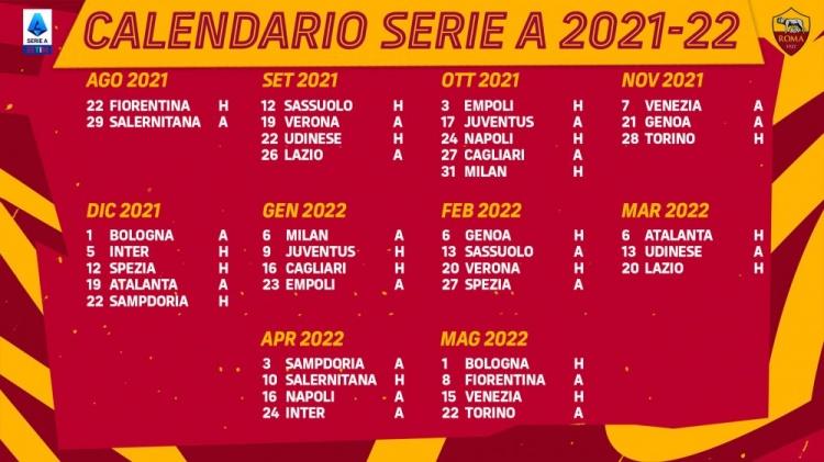【蜗牛电竞】罗马新赛季赛程:第8、21轮战尤文,第16、34轮对阵国米
