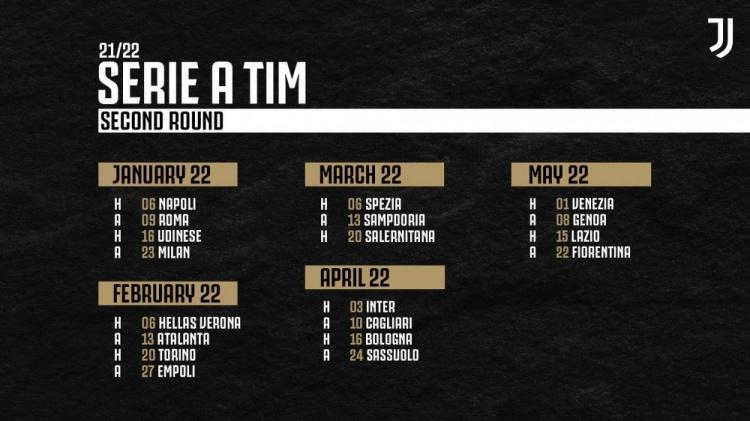 【蜗牛电竞】尤文新赛季赛程:第4轮对决米兰,第9、31轮PK国米