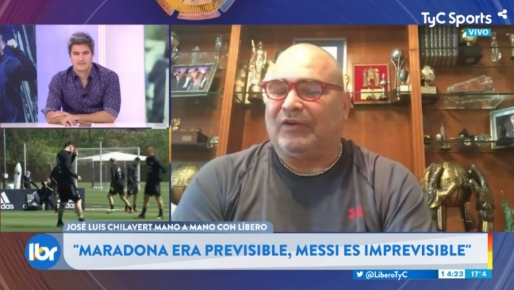 奇拉维特:梅西就像来自另一个星球 梅罗退役后足球将变得单调