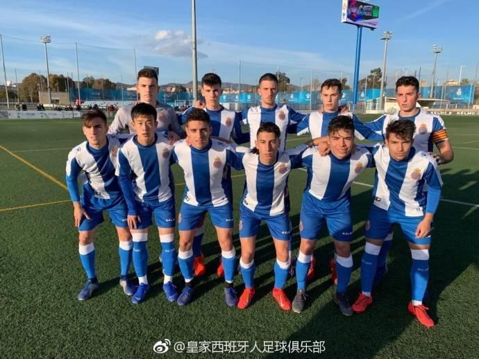 张奥凯首发,西班牙人青年A队2-1取胜现排名榜首