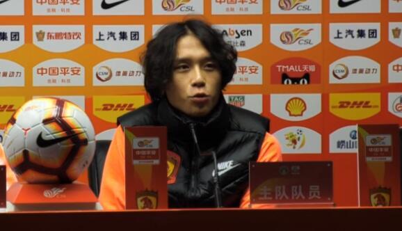 张修维:靠实力争取位置 要为广州为球队一直赢下去