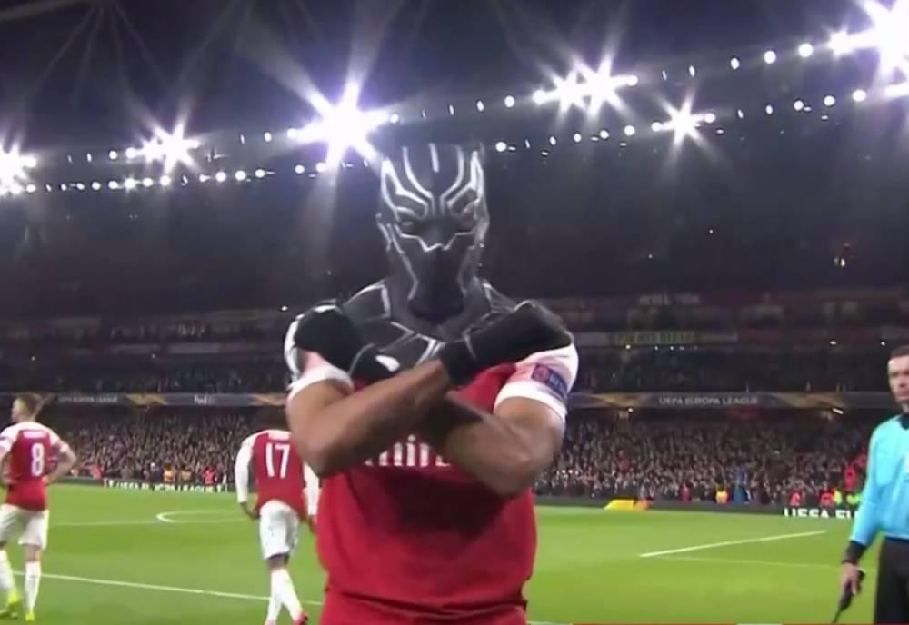 奥巴梅扬:错失了终结比赛的良机 黑豹面具代表着自己