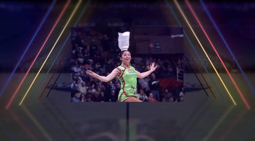 【人物志】中国杂技表演者牛荣:奉献NBA最受欢迎的中场表演