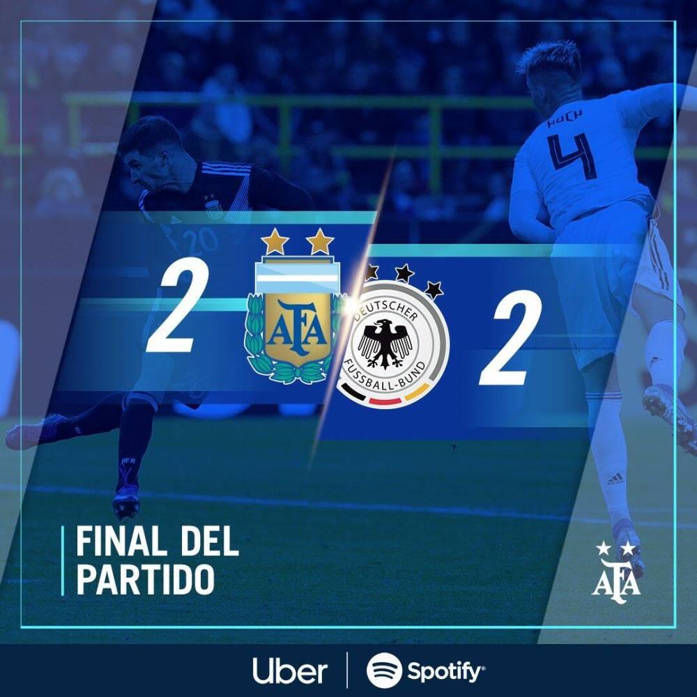 复盘德国vs阿根廷:各踢半场好球,互相借力打力