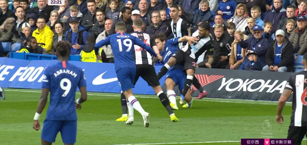 半场-威廉造威胁巴克利伤退 切尔西主场0-0暂平纽卡斯尔