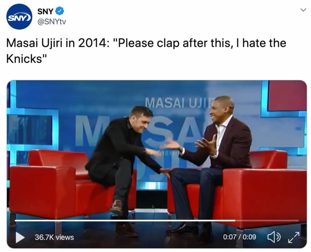 没戏?乌杰里2014年采访:我讨厌尼克斯