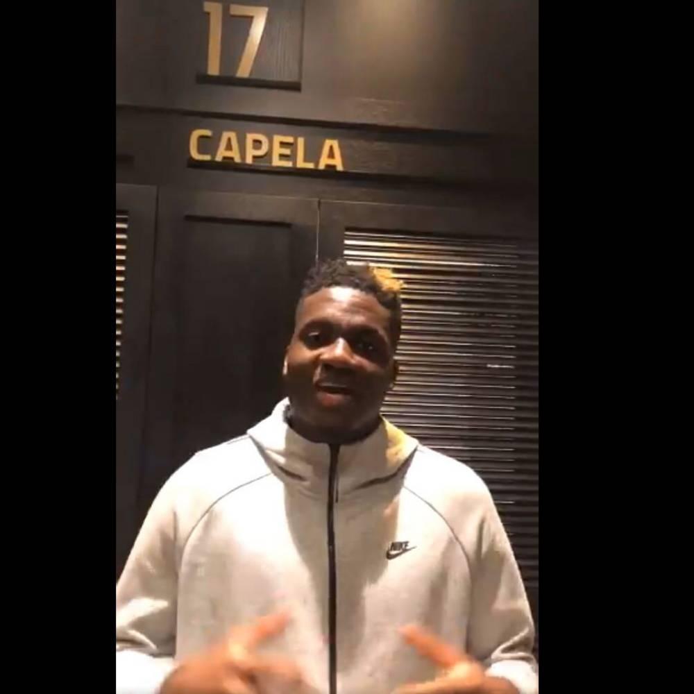 老鹰官推晒视频欢迎卡佩拉 后者将穿17号球衣