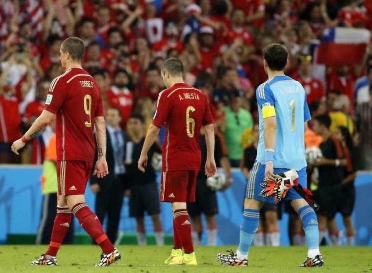 """欧洲杯往事第九篇——血色浪漫,记西班牙""""无敌舰队"""""""