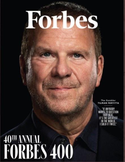 火箭老板费尔蒂塔成为《福布斯》杂志10月封面人物