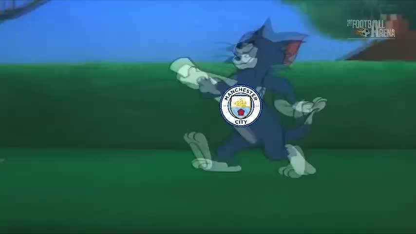 被玩坏!猫和老鼠恶搞曼城6-0切尔西