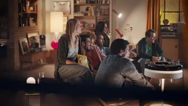 偷吃!梅西德赫亚最新薯片广告