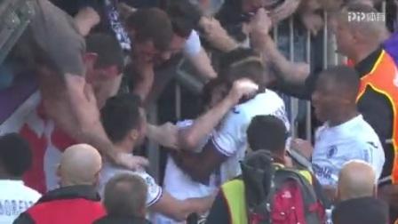 法甲-布里安德制胜球 波尔多2-1胜图卢兹
